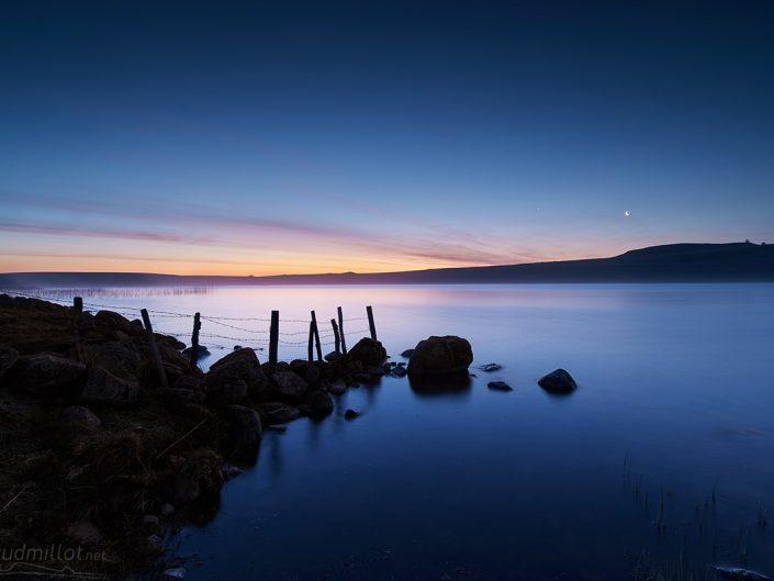 Lac de Saint Andéol, Marchastel, Lozère, Avril