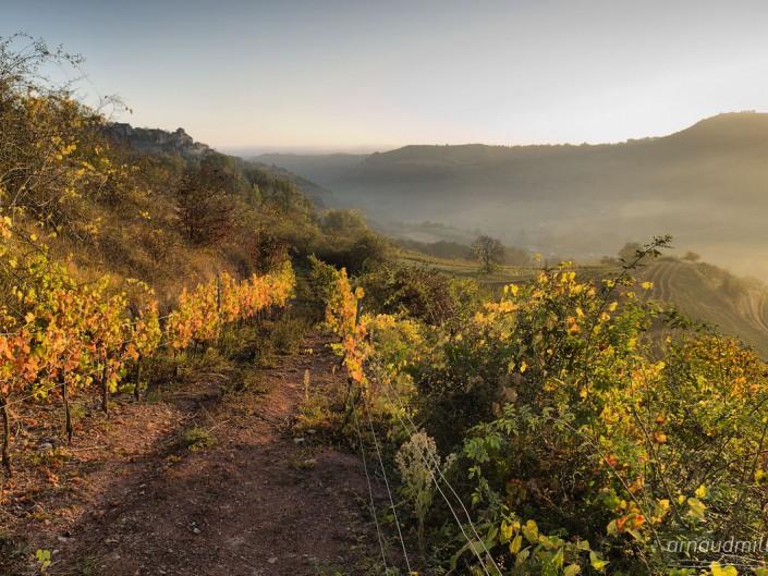 Vers Cassagnes, Goutrens, Aveyron, Novembre