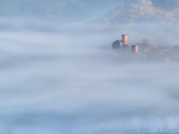 Chateau de la Servayrie, Mouret, Aveyron, Décembre