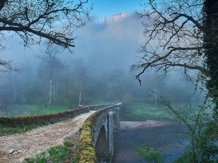 Pont de Comencau, Druelle, Moyrazes, Averyon, Avril