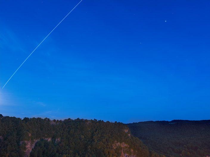Passage de l'ISS depuis Salles la Source, Aveyron, Juin