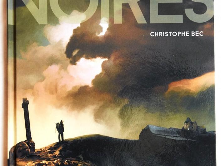 Les tourbières noires, Christophe Bec, couverture