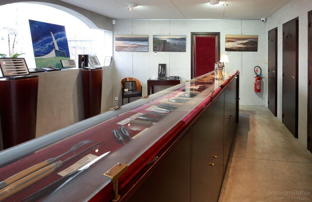 magasin Forge de Laguiole exposition brumes