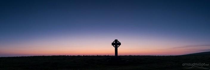 Croix de la Rode, Les Salces, Lozère, Juin