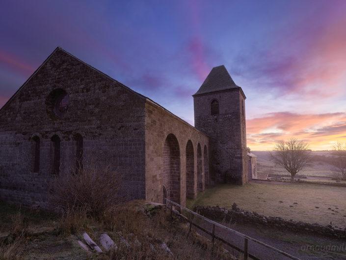 La Domerie, Village d'Aubrac, Aveyron, Novembre