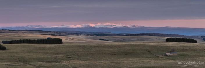 Du buron de la Palle au Cantal, Aurelle Verlac, Aveyron, Novembre