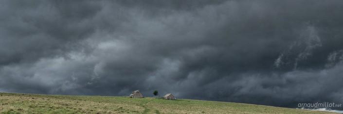 Vers Redondet, Lacalm, Aveyron, Octobre