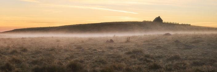 Buron de Places Hautes, Lozère, Septembre