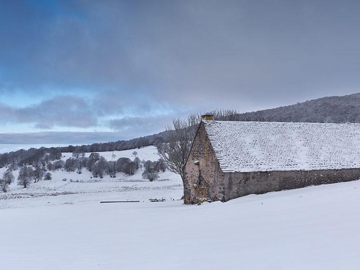 Canuc, Saint chély d'Aubrac, Aveyron, Février