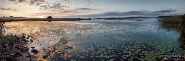 Lac des Salhiens, Nasbinals, Lozère, Juin
