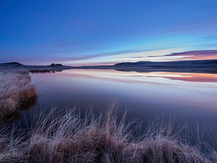 Lac de born, Marchastel, Lozère, Novembre