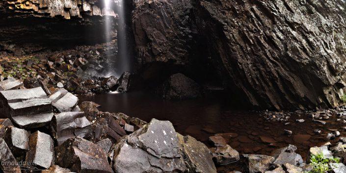 Cascade du Déroc, Nasbinals, Lozère, Octobre