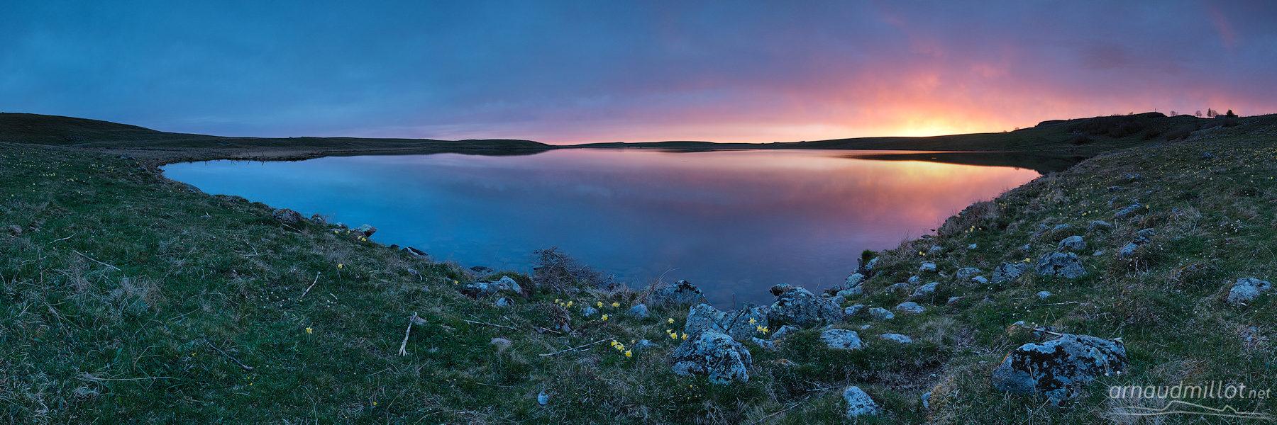 Lac de Saint Andéol, Marchastel, Lozère, Mai