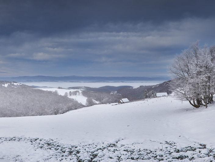 Vers Alte Teste, Aurelle Verlac, Aveyron, Novembre