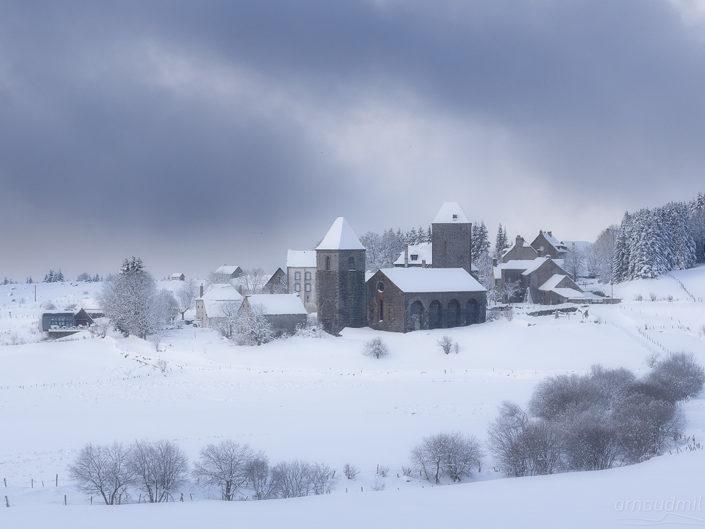 La Domerie, Saint Chély d'Aubrac, Aveyron, Mars