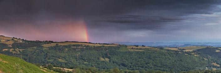 Les Vernhes, Saint Chély d'Aubrac, Aveyron, Août