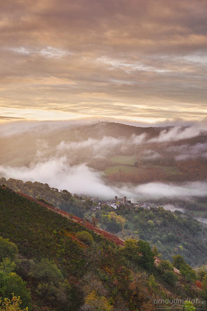 Pomayrols, Aveyron, Novembre