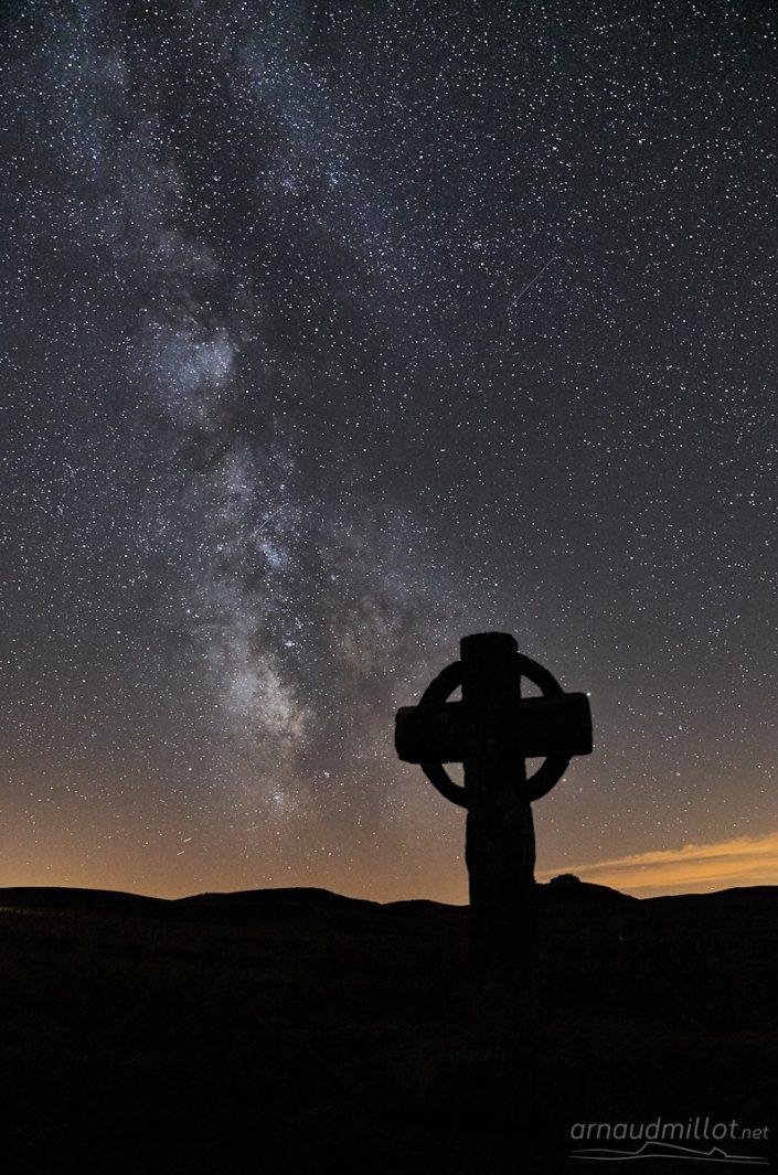 Croix de la Rode, Les Salces, Lozère, Août