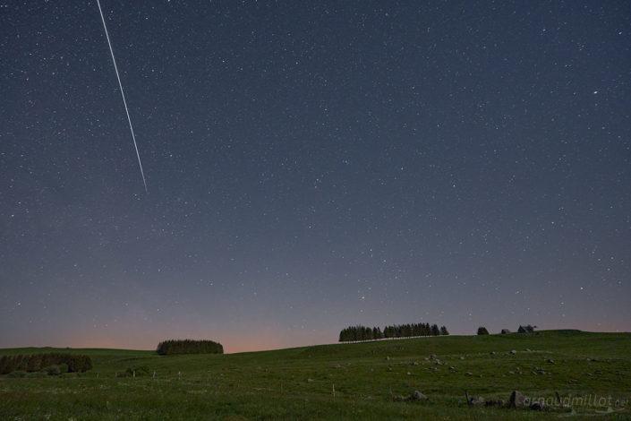ISS au Pendouliou de Fabrèques, Prades d'Aubrac, Aveyron, Mai
