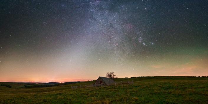 Rigambal Haut et lumière zodiacale, Septembre