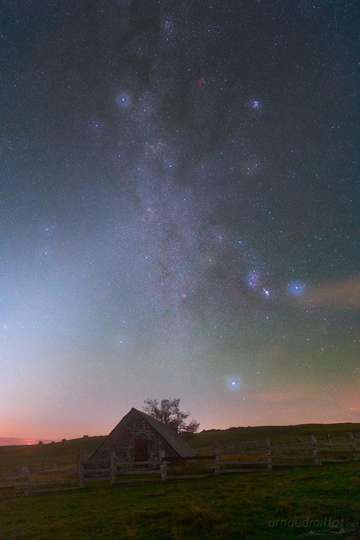 Rigambal Haut et Voie Lactée, Septembre