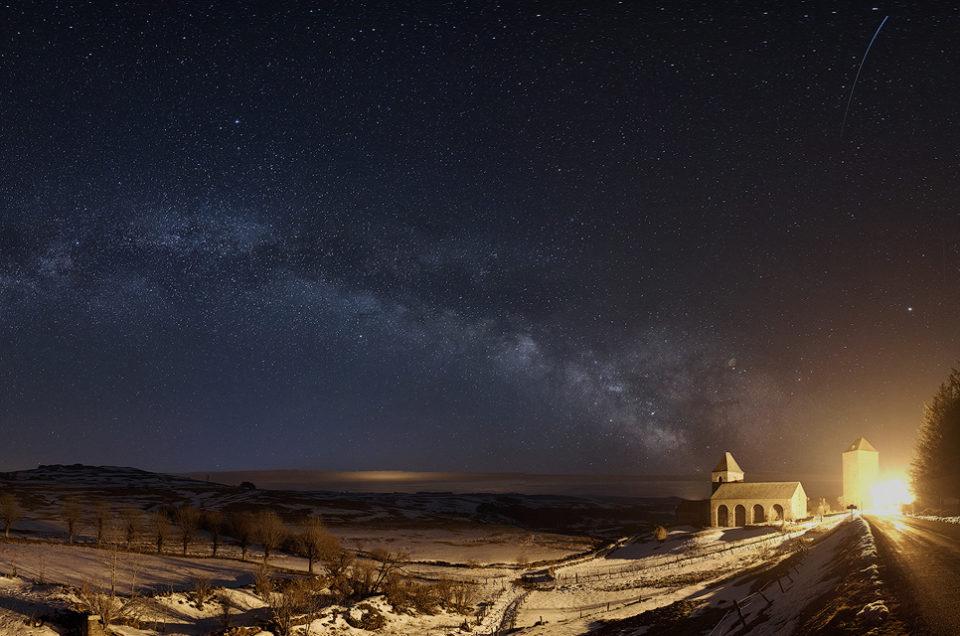 Première Voie Lactée de l'année