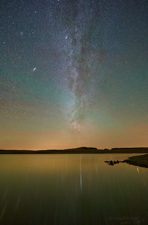 Rives du lac des Moines, Octobre