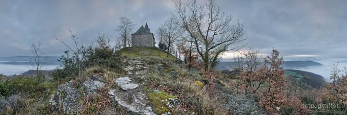 Saint Jean Le Froid, Mouret, Aveyron, Février