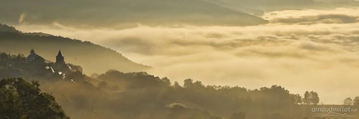 Depuis Montbigoux, Noailhac, Aveyron, Octobre