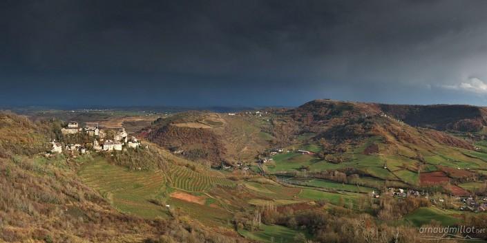 Cassagnes Comtaux, Goutrens, Aveyron, Novembre