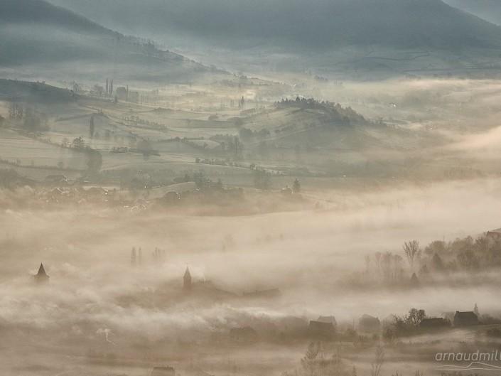 Vers Clairvaux, Goutrens, Aveyron, Décembre