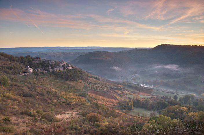 Cassagnes Comtaux, Goutrens, Aveyron, octobre