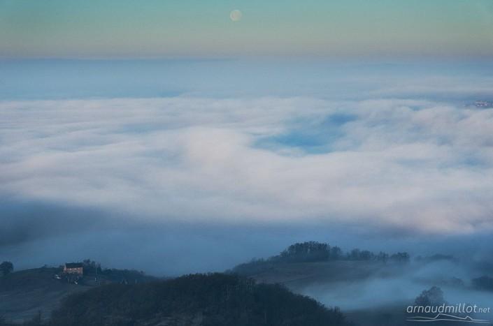 Depuis Montjoule, Mouret, Aveyron, Janvier