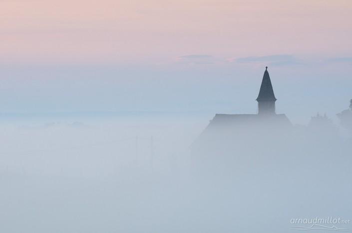 Chapelle Saint Roch, Aveyron, Juillet