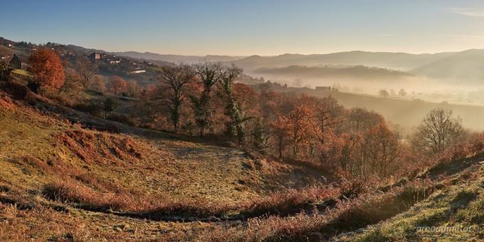 Près de Puech Banou, Pruines, Aveyron, Décembre