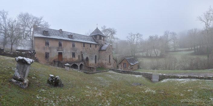 Notre Dame de Vanc, Salles La Source, Aveyron, Février