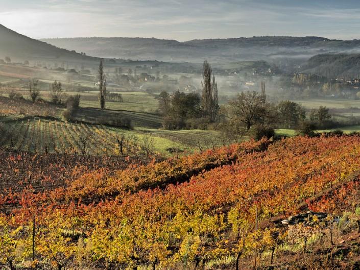 Vers las Parras, Clairvaux, Aveyron, Novembre