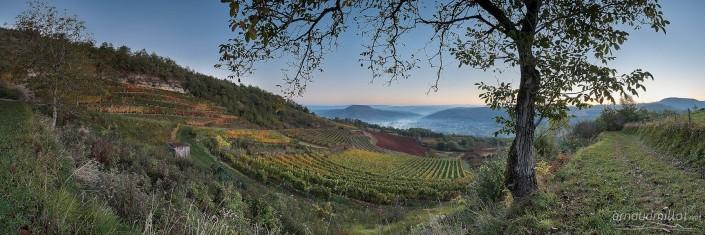 Les Crestes, Goutrens, Aveyron, Novembre