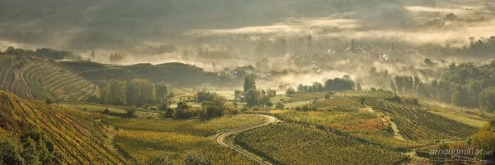 Vers Clairvaux, Goutrens, Aveyron, Novembre