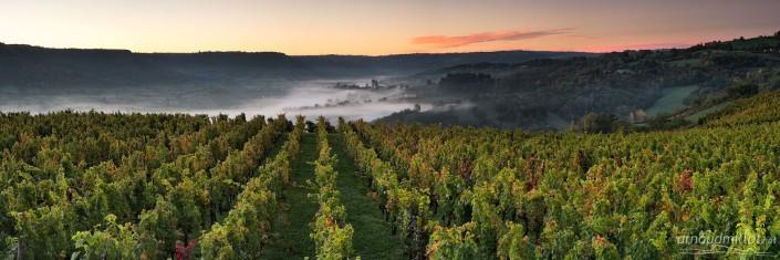 Depuis le Cros, Goutrens, Aveyron, Octobre