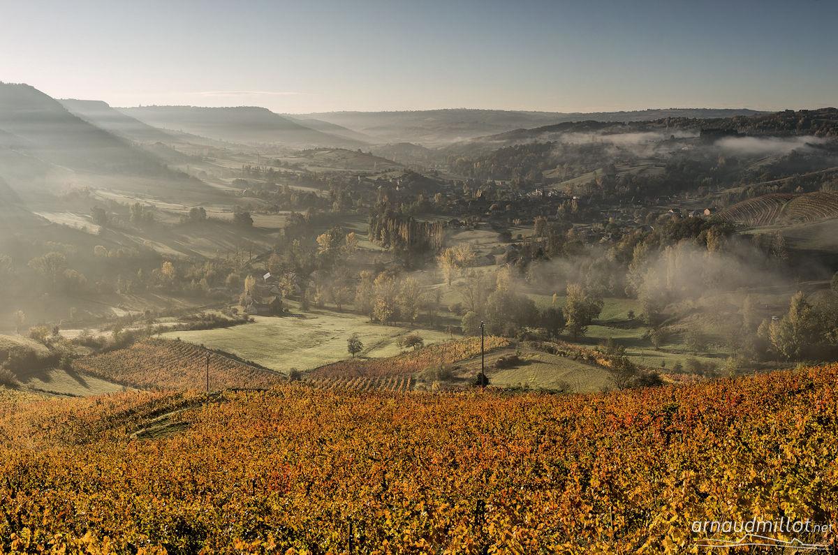 Sous Cassagnes, Goutrens, Aveyron, Novembre