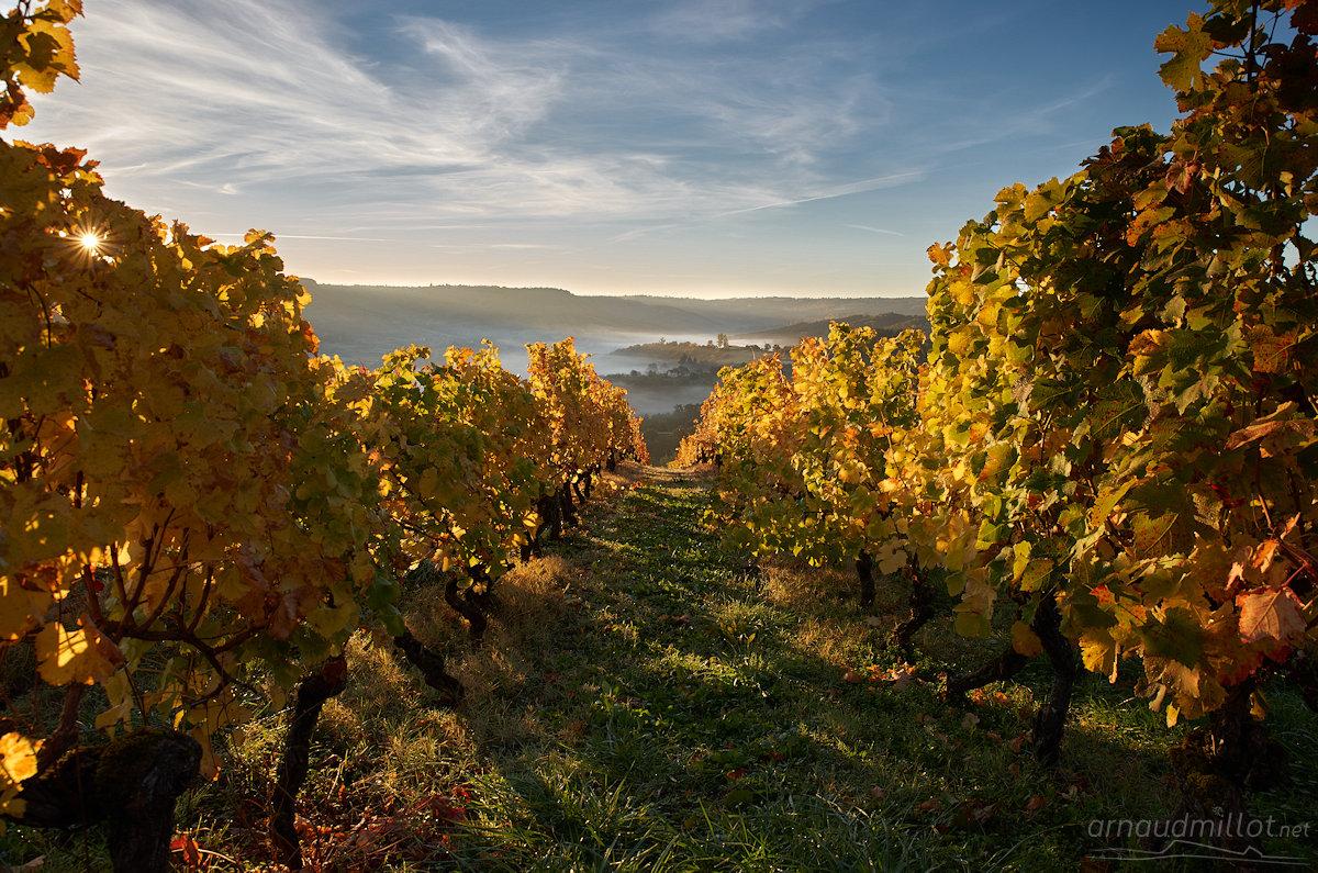 Vers le Cros, Goutrens, Aveyron, Octobre
