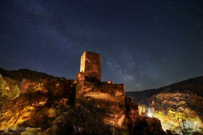 Chateau de Belcastel, Aveyron, Juin