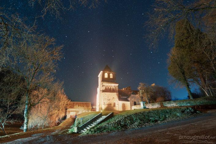 Saint Pierre de Bessuejouls, Aveyron, Février