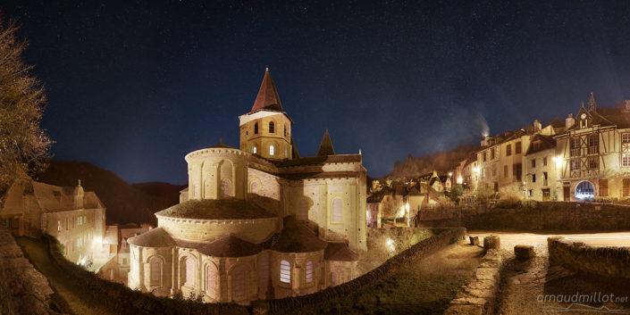 Abbatiale de Conques, Aveyron, Décembre