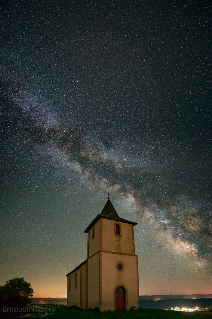 Chapelle de Ceyrac, Gabriac, Aveyron, Juillet