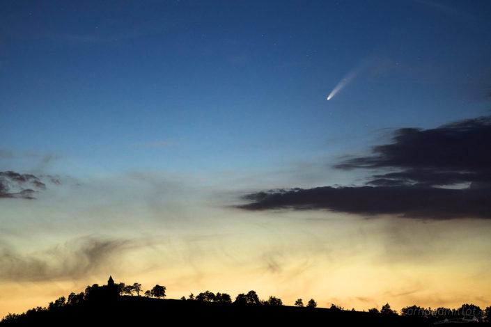 Comete Neowize c2020 f3, Mouret, Aveyron, Juillet 2020