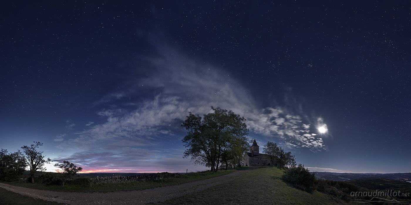 Saint Jean le Froid sous les étoiles, Mouret, Aveyron, Octobre