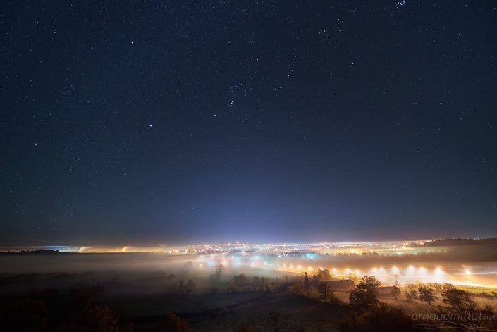 Rodez sous les étoiles, Aveyron, Octobre