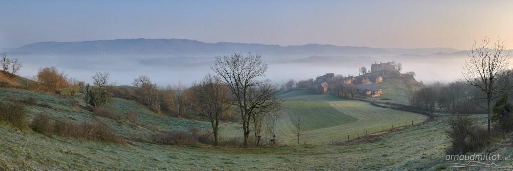 La Capelle Mouret, Aveyron, Mars - 5/7